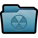 Cd, write, Burn, Burnable, Folder, mac SteelBlue icon