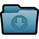 Arrow, mac, Folder, Import, documents, download Icon