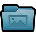 Folder, mac, my pictures, photos, Pictures, images, photography SteelBlue icon