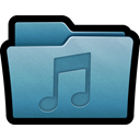 mp3, music, Folder, Multimedia, sound, Audio, mac SteelBlue icon