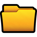documents, files, windows, win, Folder Gold icon
