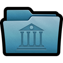 Archive, Data, mac, Folder, Library SteelBlue icon