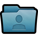 Folder, Man, Account, user, mac SteelBlue icon