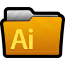 cs5, adobe, Folder, Directory, documents, illustrator Black icon