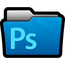 adobe, Folder, files, photoshop, cs5, Directory DarkCyan icon