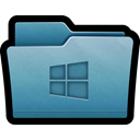 Folder, window, documents, windows, mac SteelBlue icon