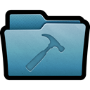 tool, settings, tools, mac, Developer, Folder SteelBlue icon