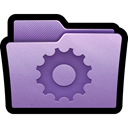 Folder, Gear, preferences, settings, configuration, Smart, mac Black icon