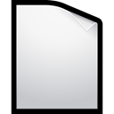 document, Blank, File WhiteSmoke icon