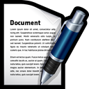 document, word, File, write Black icon