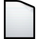 document, paper, Blank, writing WhiteSmoke icon
