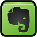 sync, write, reminder, Notes, Evernote YellowGreen icon