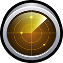 mac, network, utility, test, monitor SaddleBrown icon