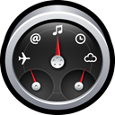 Dashboard, widgets, mac, Dock, gadgets DarkSlateGray icon