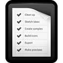 to-do, list, reminders, Notes, mac WhiteSmoke icon