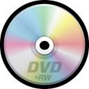 Dvd, disc, Cd, dvdrw, optical media, compact disc Black icon