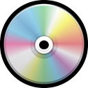 Cd, optical, blu-ray, Dvd, Compact, Vcd Black icon