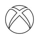 Game, Computer, video, microsoft, play, xbox, media Black icon