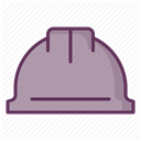 Building, Protection, Construction, security, Control, work, Accident prevention DarkGray icon