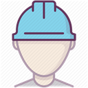 Construction, work, Control, Accident prevention, Protection, security, Building DimGray icon