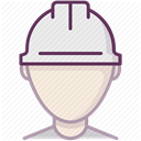 Protection, Building, Control, security, Accident prevention, work, Construction DimGray icon