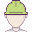 Construction, security, Building, Protection, Accident prevention, work, Control DimGray icon