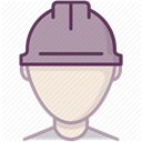 Construction, Control, security, Building, work, Protection, Accident prevention DimGray icon