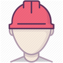 work, Accident prevention, Construction, security, Building, Protection, Control DimGray icon