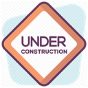 security, Protection, Construction, Control, Accident prevention, work, Building Lavender icon