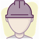 Control, Building, Protection, Accident prevention, work, security, Construction DarkGray icon