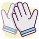 Protection, Building, Accident prevention, Construction, security, Control, work Lavender icon
