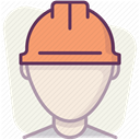 work, Accident prevention, Building, Protection, Construction, Control, security Linen icon