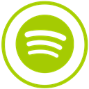 Spotify YellowGreen icon