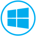 windows, microsoft, window DeepSkyBlue icon