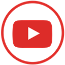 youtube, video Crimson icon