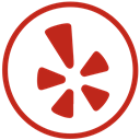 shape, Yelp, Communication Firebrick icon