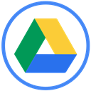 gdrive, google, drive RoyalBlue icon