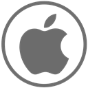mac, Apple DimGray icon