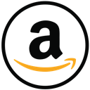 shopping, Amazon, ecommerce, online Black icon