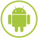smartphone, Mobile, Android, Device YellowGreen icon