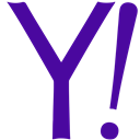 yahoo, Communication, Social Indigo icon