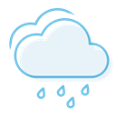 havyrain, Cloudy AliceBlue icon