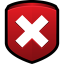 Error, Lock, Clear, security, delete Firebrick icon