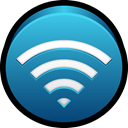 Connection, internet, wi-fi, wireless, Wifi Teal icon