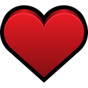 bookmarks, Favorite, Heart Firebrick icon