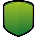 Block, protect, shield OliveDrab icon