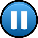 music, player, stop, play, Audio, Pause SteelBlue icon