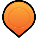 Map, Gps, pin, location, mark, navigation Coral icon