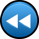previous, player, rewind, Multimedia, Back SteelBlue icon