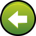 start, previous, Backward, Back, Left YellowGreen icon